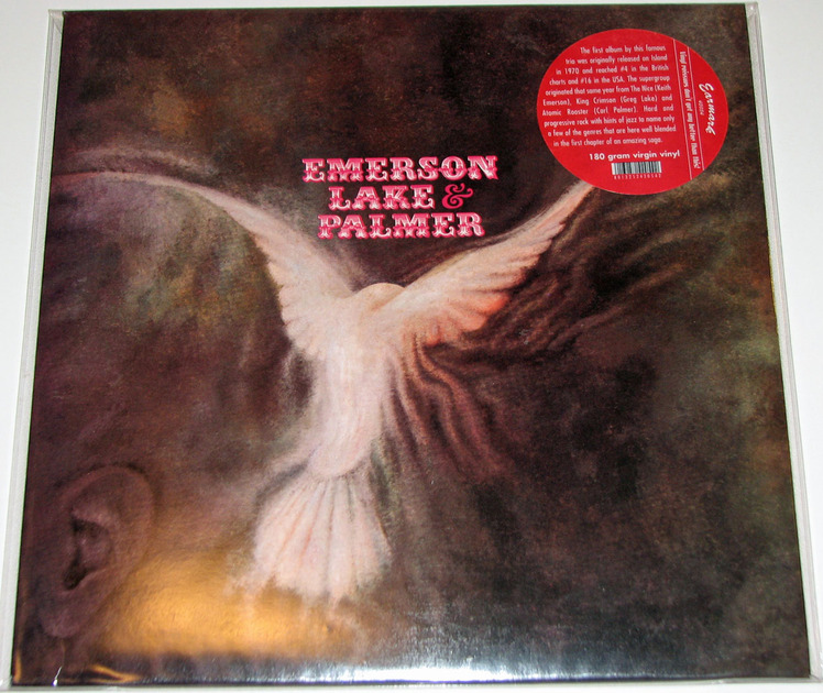 Emerson Lake & Palmer - Emerson Lake & Palmer 180-gram vinyl reissue Near Mint