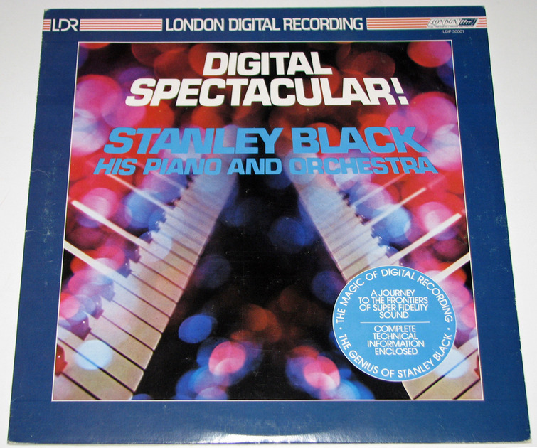 Stanley Black - Digital Spectacular Audiophile LP London Decca UK Import Near Mint