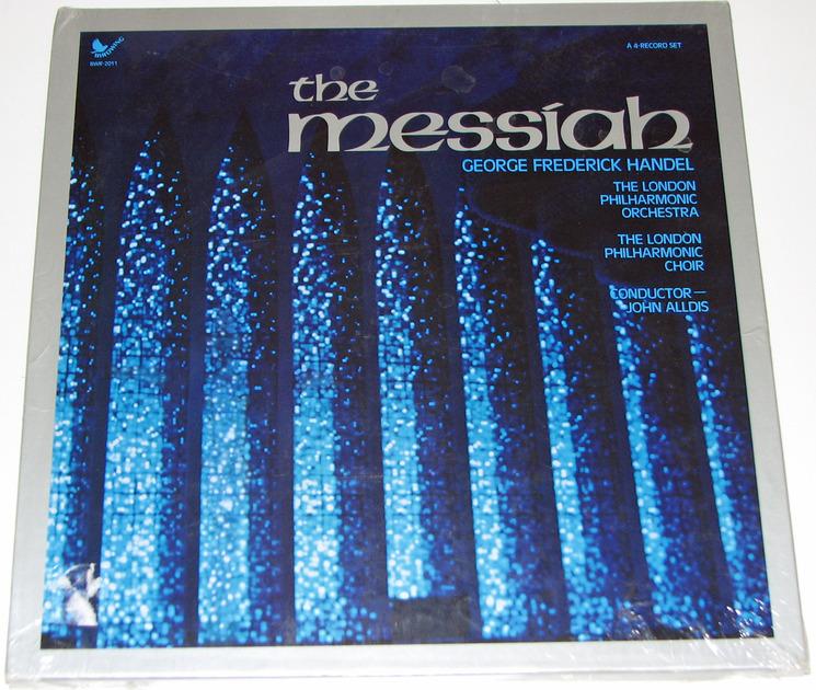 Handel - The Messiah 4-LP Vinyl Set Sealed