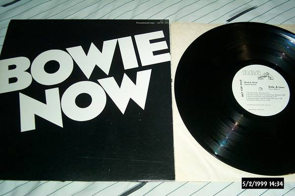 David bowie - Bowie Now rare promo lp nm