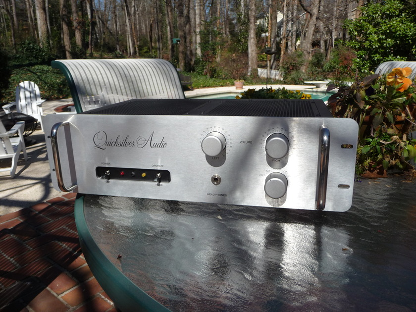 """Quicksilver Full Preamp (newest  version) """"More Choice Stuff."""" Silver. Pictures:"""