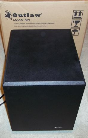 Outlaw Audio M8 Subwoofer (Black)