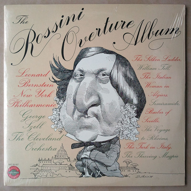 SEALED/Columbia/Szell/Rossini - Overtures / 2-LP Set