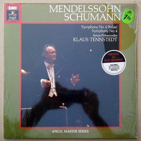 Sealed/Emi/Tennstedt/Mendelssohn - Symphony No.4 Italian, Schumann Symphony No.4 / Pressed in Germany