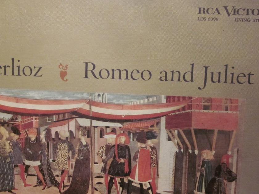 BERLIOZ Romeo & Juliet  SORIA - LDS 6098 RCA SORIA