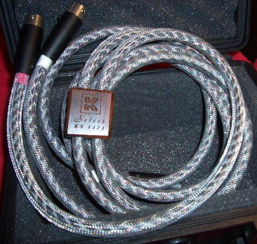 Kimber Kable SELECT KS-1121 2 meter pair w/xlrs