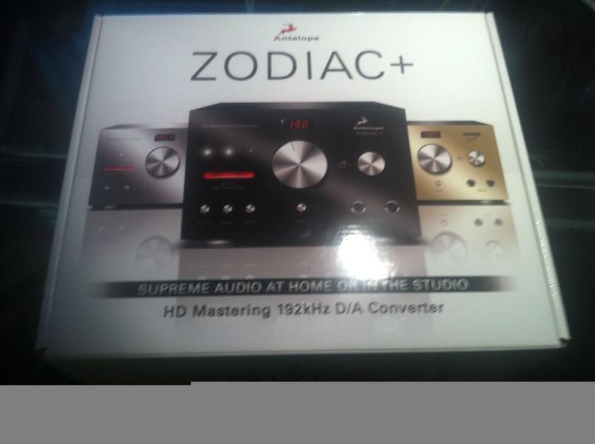 Antelope Zodiac+ DAC & AudioQuest Carbon 1.5m (Sealed Boxes) Zodiac+