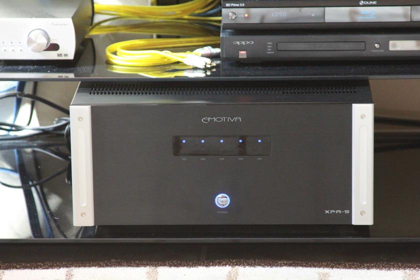 Emotiva XPA-5 1000W 5 channel