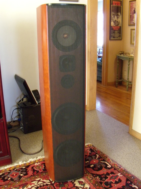 Krell Resolution 1 high performance dynamic loudspeakers, FREE SHIPPING