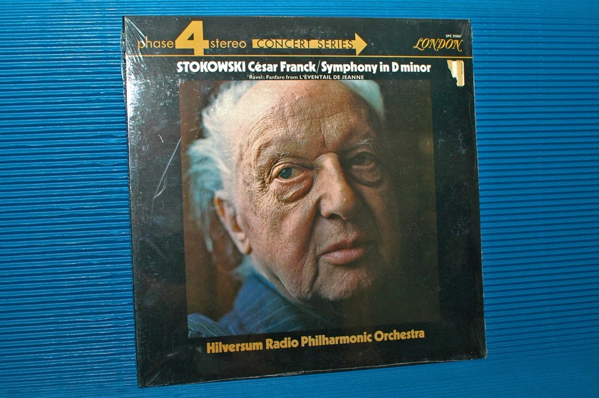 """FRANCK/Stokowski - - """"D minor Symphony"""" -  London Phase 4 1971 Sealed"""