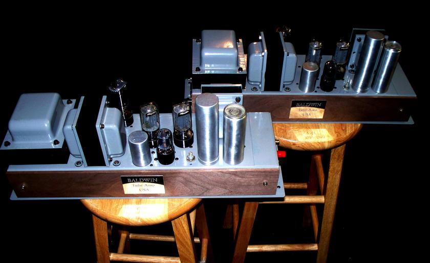 Baldwin Mono Tube Amps Restored, Stunners!