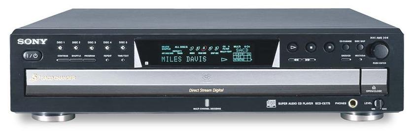 Sony SCD–CE775 Super Audio CD Player