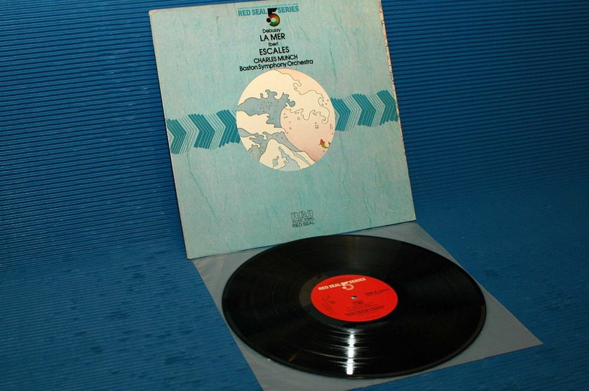 "DEBUSSY/Munch -  - ""La Mer"" -  RCA .5 Series 1982 Audiophile"