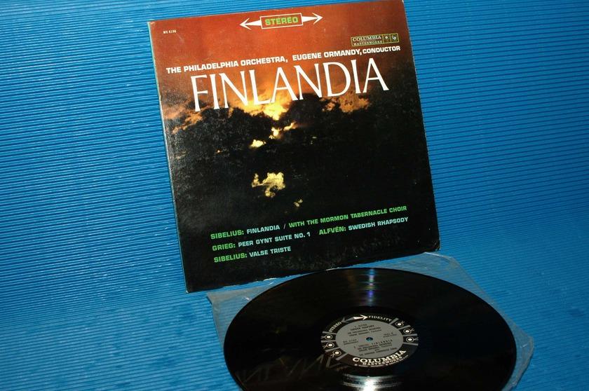 "GRIEG/SIBELIUS/Ormandy - - 'Finlandia"" -  Columbia '6 Eye' 1960 very early pressing"