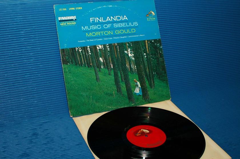 "SIBELIUS/Gould -  - ""Finlandia"" -  RCA 'Shaded Dog' 1963"