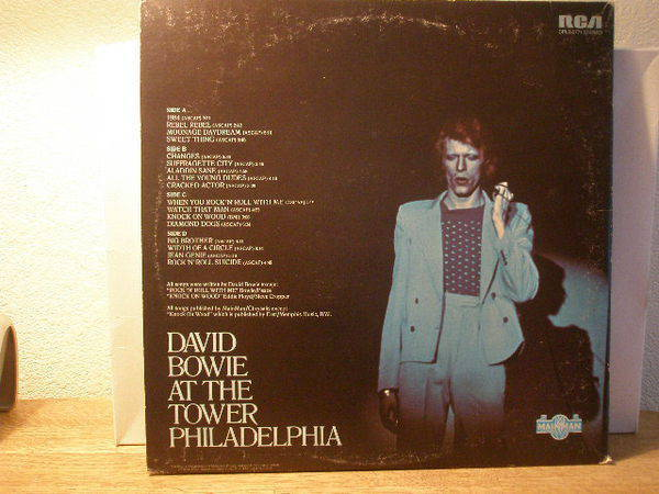 David Bowie David - Live 2 LP $16 ship included media in 48 states