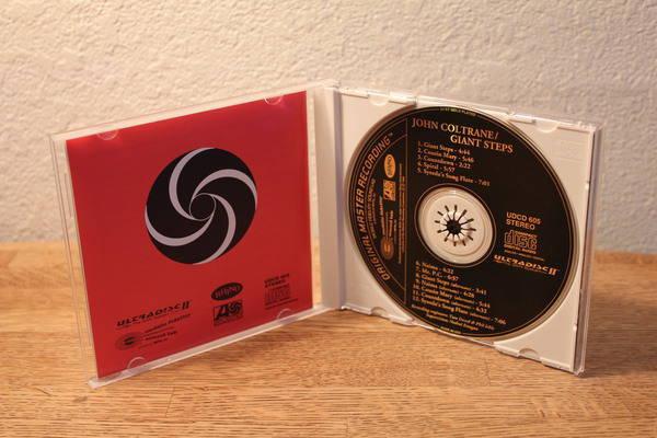 Mobile Fidelity Udcd - 605 John Coltrane giant steps gold cd japan
