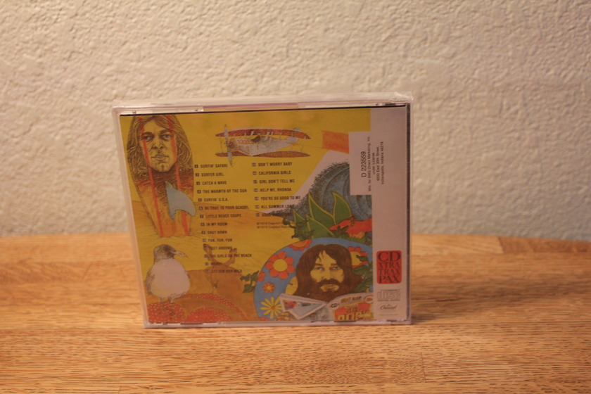 The Beach Boys Endle - ss Summer (Hits) CD still sealed shipped