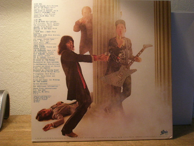 Cheap Trick Dream - Police gatefold $10 shipped media rate 48 states