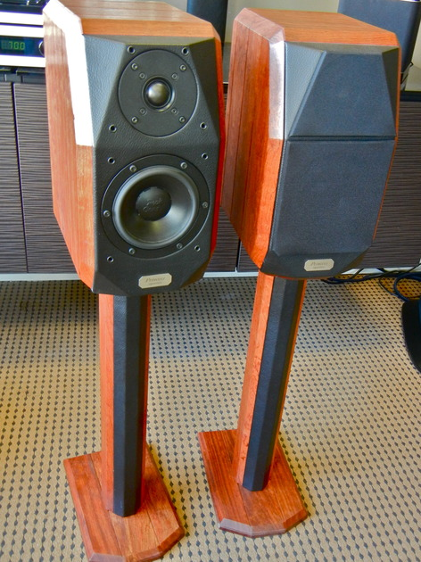 Peak Consult Princess Signature Speakers w/Stands In Great Shape with Low Reserve
