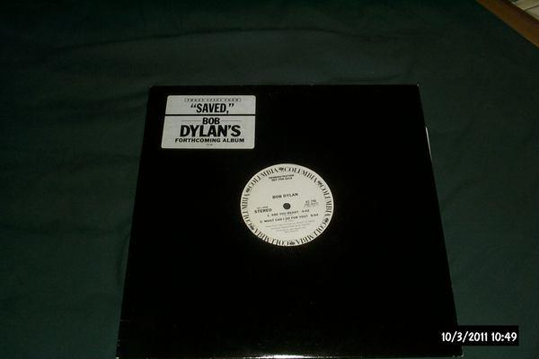 Bob dylan - Saved Promo Sampler vinyl nm