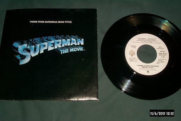 Soundtrack - Superman The Movie promo 45 mono/stereo nm