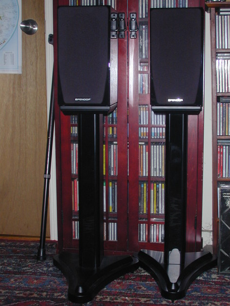 Spendor SA1 with Dedicated Stands