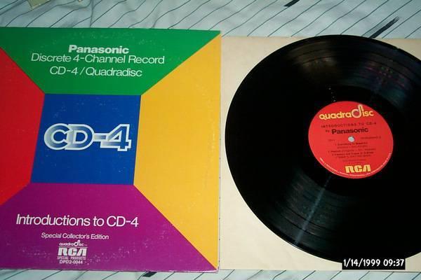 Panasonic - Introduction to CD-4 2 lp nm quadradisc