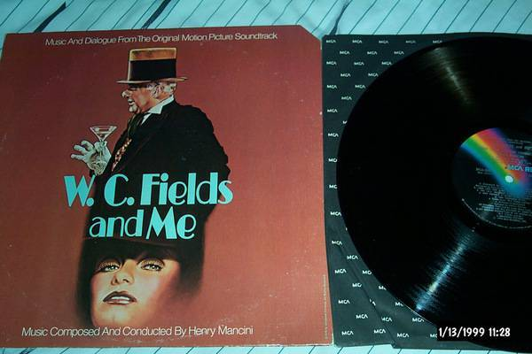 Henry mancini - W.C Fields & Me lp nm