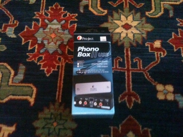 Pro-Ject Phono Box II USB Mint Condition