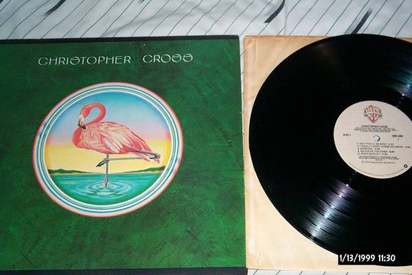 Christopher cross - S/T lp nm