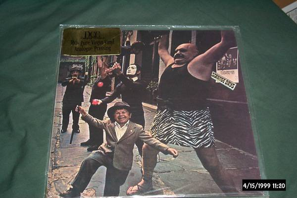 The doors - DCC Audiophile strange days lp nm