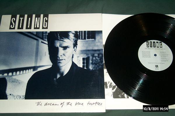 Sting - The Dream Of The blue turtles lp nm