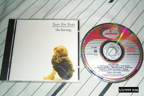 Tears For Fears - The Hurting mercury  west germany cd