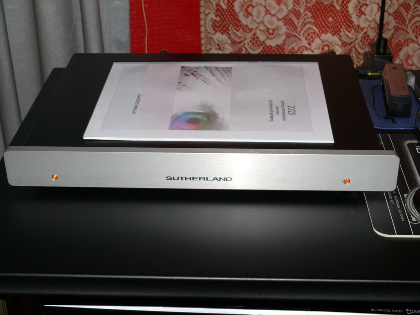 SUTHERLAND 20/20 MM/MC PHONO STAGE