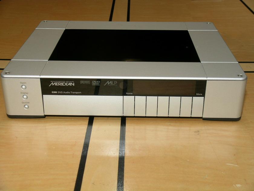 Meridian G98 DH DVD/CD player--Silver