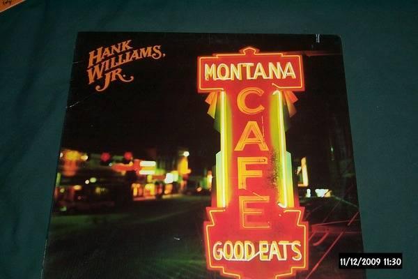 Hank williams jr. - Montana Cafe sealed lp