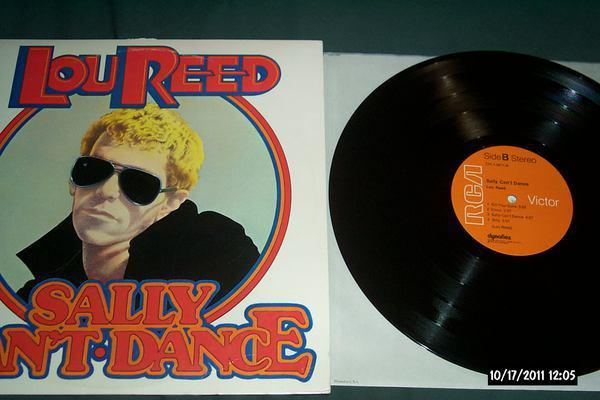 Lou reed - Sally Can't Dance first pressing lp nm