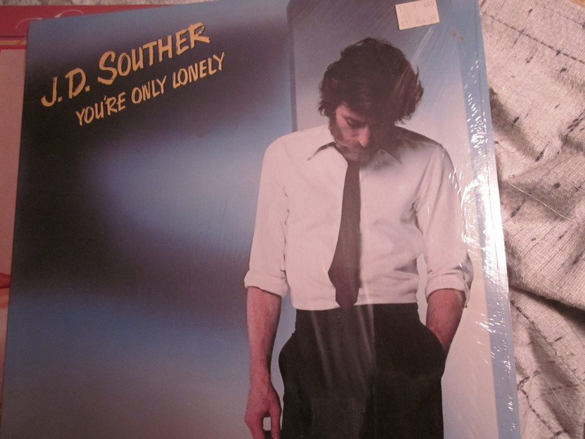 JD SOUTHER  - YOU'RE ONLY LONELY COLUMBIA JC 36093