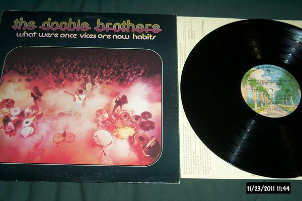 Doobie Brothers - What Were Once vices are now habits lp nm