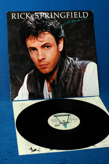 "RICK SPRINGFIELD - - ""Living In Oz"" -  RCA - 1983"
