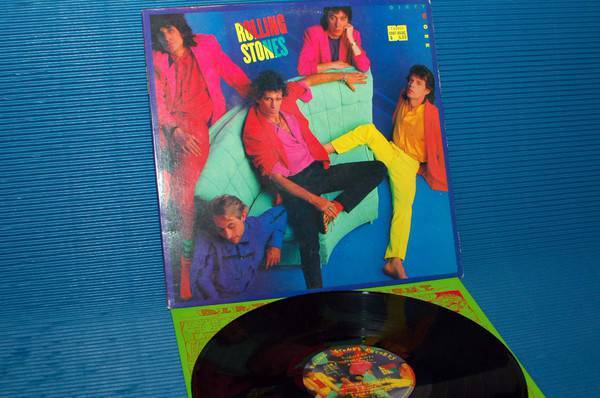 """THE ROLLING STONES - - """"Dirty Work"""" -  Rolling Stones Records 1986"""