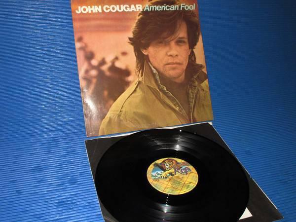 "JOHN COUGAR (MELLENCAMP) -  - ""American Fool"" -  Riva 1982"