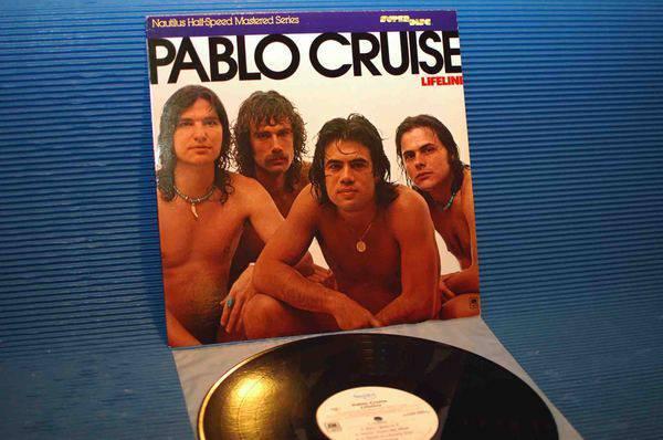 """PABLO CRUISE -  - """"Lifeline"""" - Nautilus Super Discs 1980"""