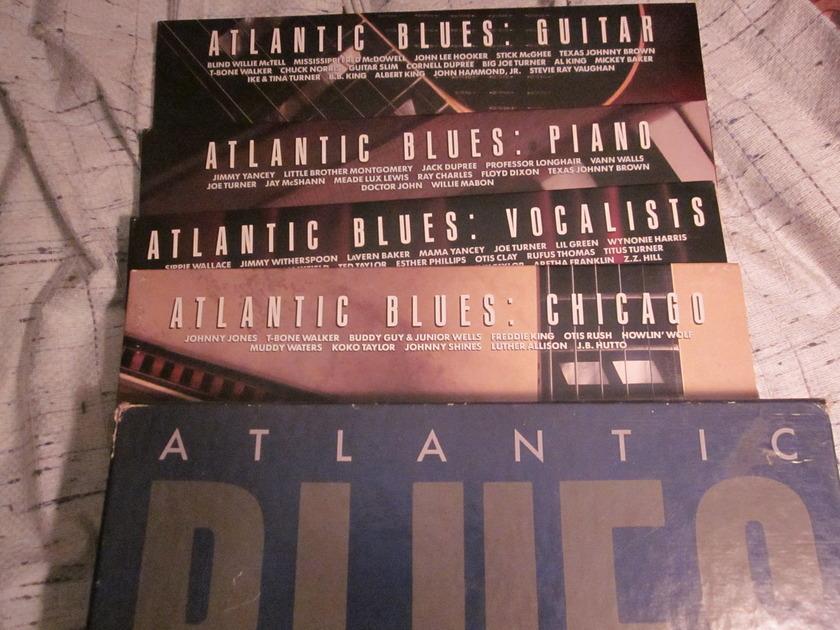 ATLANTIC BLUES - 8 LP gatefold edition box set a1-81713
