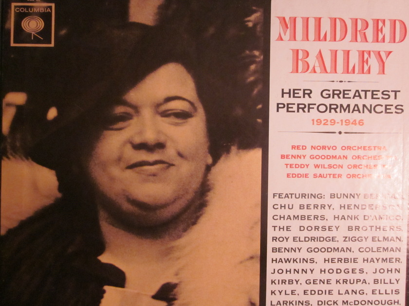 MILDRED BAILEY - HER GREATEST PERFORMANCES COLUMBIA C3L 22