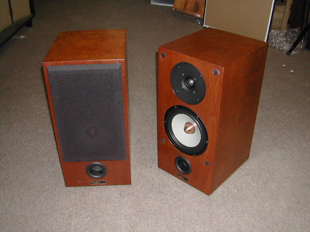 Tyler Acoustics Taylo ref monitors in red cherry!