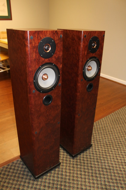 Tyler Acoustics Linbrook floorstanding reference monitor