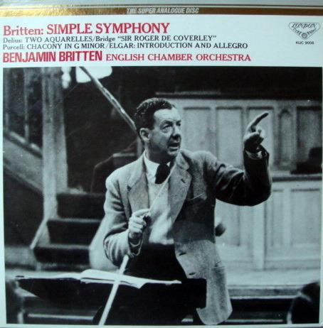 ★Audiophile 180g★ Super Analogue Disc / BRITTEN, - Simple Symphony, MINT!