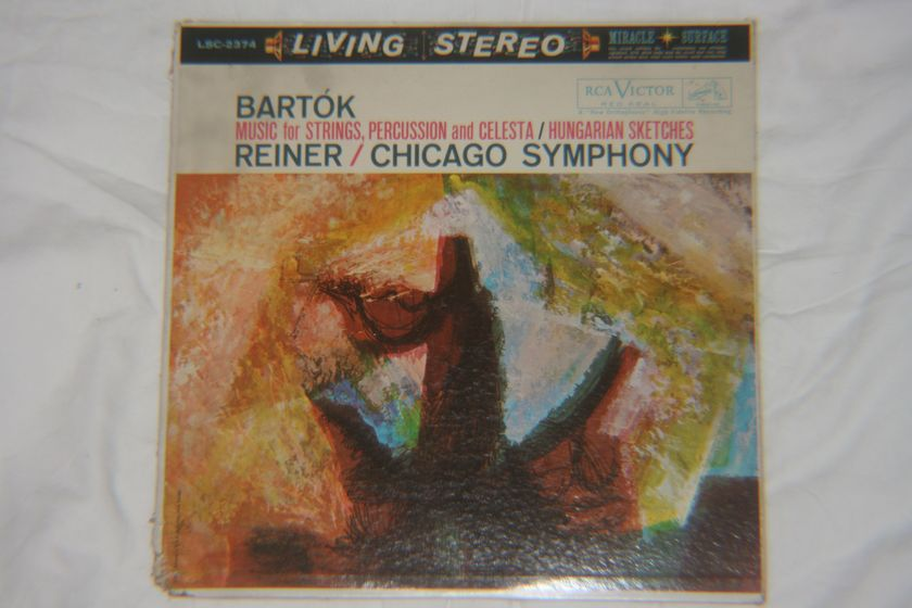 Reiner/Chicago Symphony - Bartok RCA Victor LCS-2374